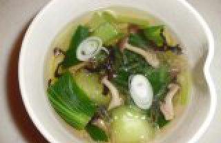 低カロリー寒天入り中華スープ